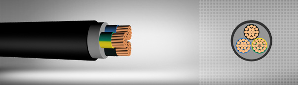 0.6/1 kV XLPE Insulated, Multi-Core Cables With Copper Conductor